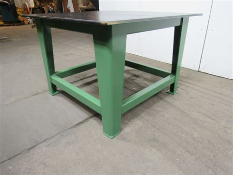 welding bench top steel welding work bench assembly layout table 48x48 quot 3 4