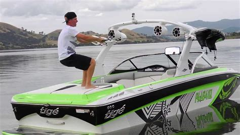 tige boats nz getting up on skis behind your tige boat iboats