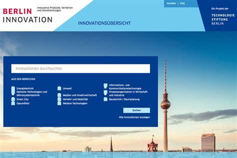 innovation möbel berlin berlin schafft eine netz heimat f 252 r innovative firmen aus
