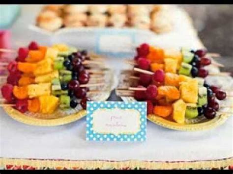 Creative Wedding reception finger food decor ideas   YouTube