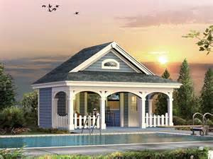 Pool Houses Plans Cabana House Plans Over 5000 House Plans
