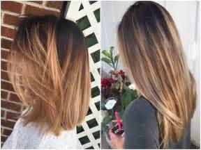 Professional Makeup And Hair Stylist Balayage On Straight Hair Short Medium Length Long