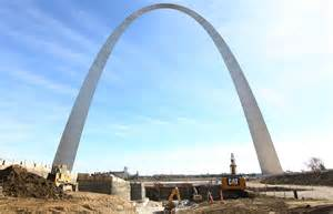 gateway arch as gateway arch turns 50 its message gets reframed wnpr