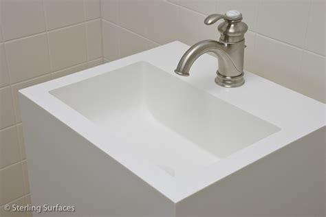 Black Corian Sink Corian Sink Corian Cabinet Built In Corian