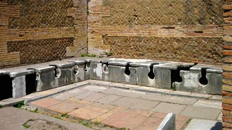 public bathrooms in italy pictures of ancient ostia photo gallery of ancient ostia