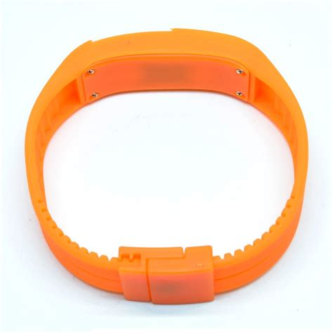 Jam Tangan Nike Gelang jam tangan led gelang sport no logo orange jakartanotebook