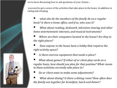 interior design questions for clients dealing with client a relationship between client and