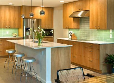 simple slab front cabinets  images kitchen