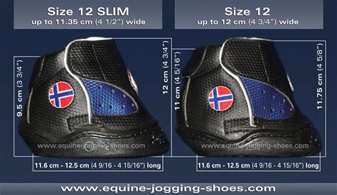 size 12 shoe in inches equine shoes 187 ultimate slim and all terrain slim
