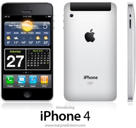 specifications for iphone 4g leaked the iphone faq