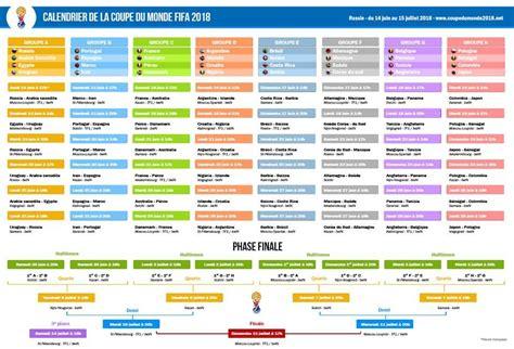 t 233 l 233 chargez le calendrier de la coupe du monde 2018 en pdf
