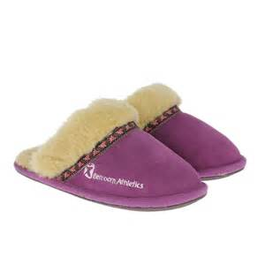 bedroom athletics womens muffin slippers new grape