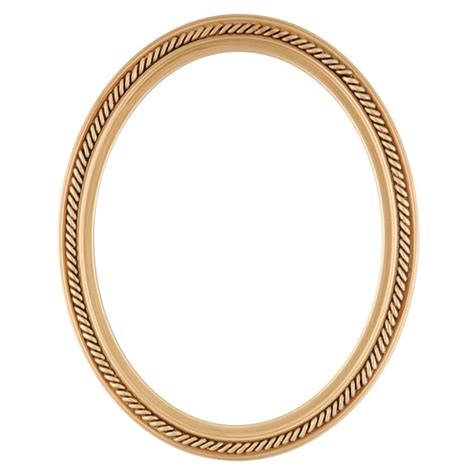 Frame Frame Foto Photo Frame Frame Minima Mhrz Family 02 oval frame in gold paint finish braided rope decals on