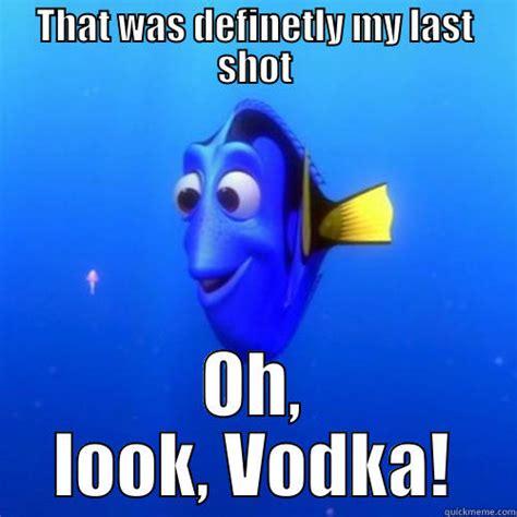Vodka Meme - how every binge starts quickmeme