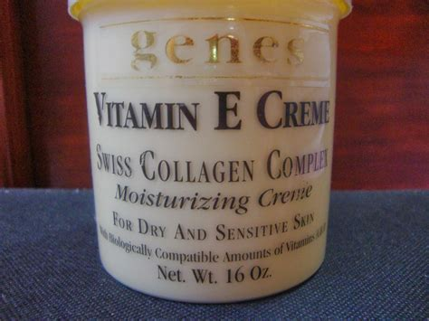 Collagen Vit E genes vitamin e and collagen creme all about 101