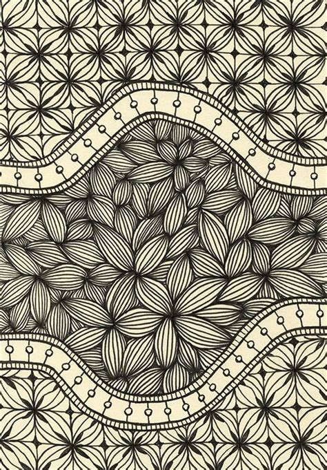 zentangle pattern floral 526 best images about zentangle flowers on pinterest