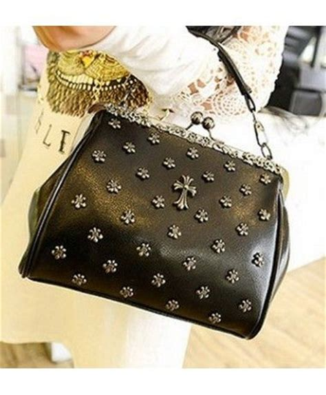 Tas Bahu Totebag Korea Fashion Import bag c668 black grosir baju supplier pakaian import tas murah tas import murah batam