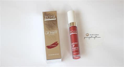 Lipstik Zoya Lip Paint zoya lip paint with shea butter bibir merah siapa yang