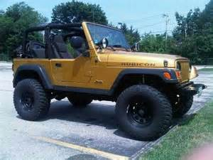 Inca Gold Jeep Wrangler Find Used Inca Gold 2003 Jeep Rubicon On A 4 Quot Lift In