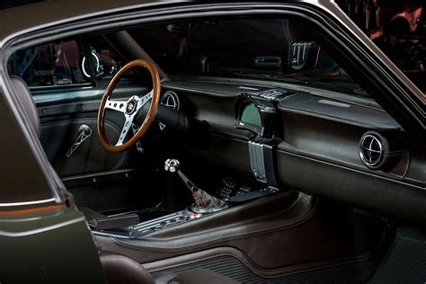 Build 2 Car Garage ringbrothers 1965 mustang espionage is damn conspicuous