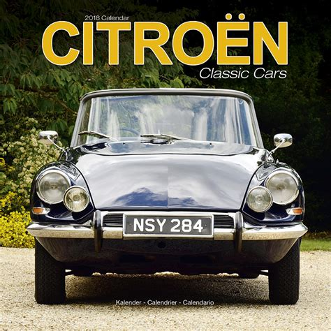 Citroen Classic Cars by Citroen Classic Cars Calendars 2018 On Abposters