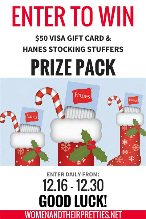 quick  hanes holiday giveaway  pp