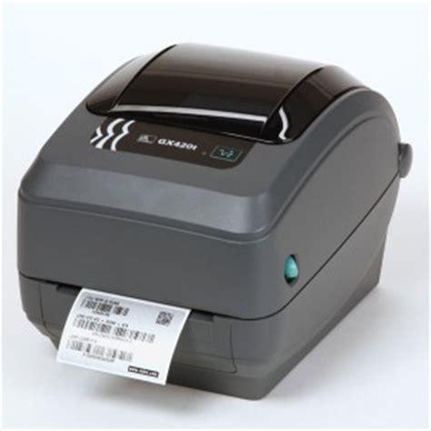 Printet Barcode Zebra Gk420t zebra gk420tt direct thermal printer