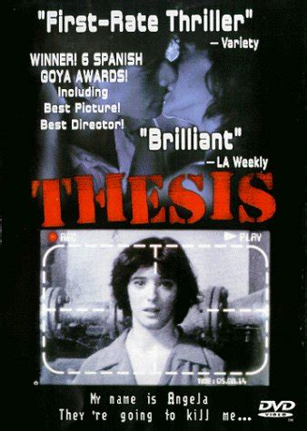thesis 1996 torrent thesis tesis buy rent and tv on flixster