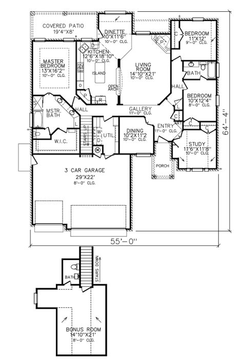 perry home plans floor plan 7192 7