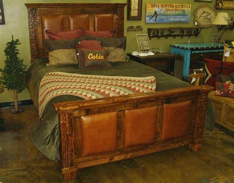 bradley s furniture etc rustic lodge bedroom collection