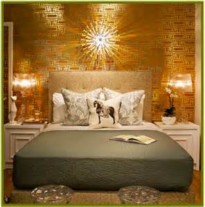 gold accent wall bedroom gold accent wall pictures decorations