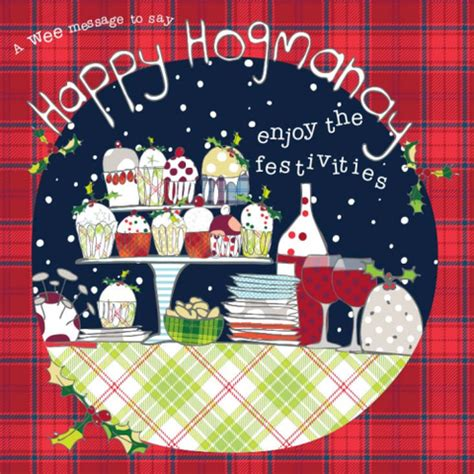 scottish for happy new year new years and hogmanay invitations and cards