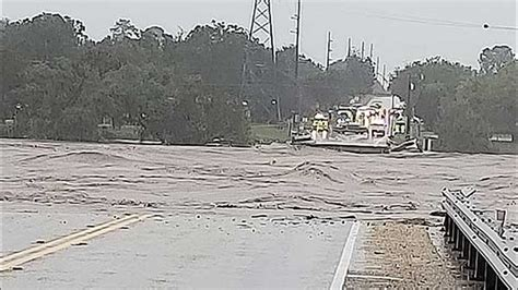 killed  llano river floodwaters flood chances remain   rain  forecast kcentvcom