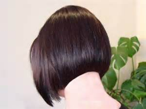 christian back bob haircut redhothair com short hair back view of a soft layered bob