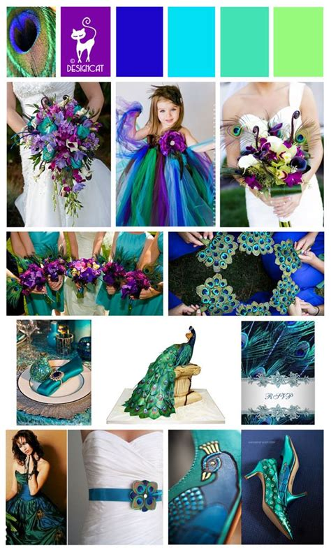 dress color combination for man decorating with green peacock themed wedding inspiration colour board purple