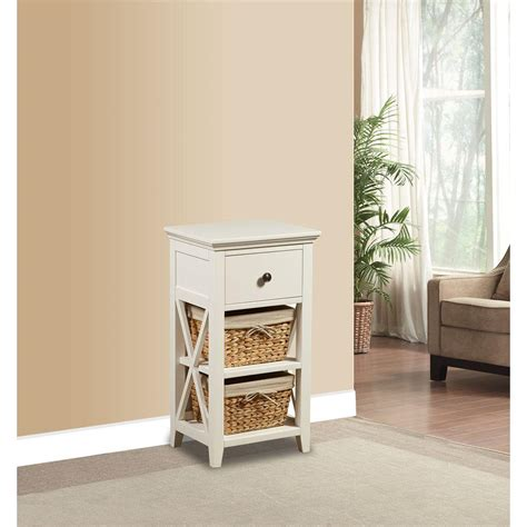 bathroom storage cabinet with baskets prepac elite 32 in wood laminate cabinet in white wes