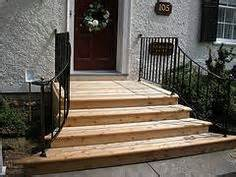 Wooden Front Stairs Design Ideas 1000 Ideas About Front Door Steps On Front Doors Front Steps And Concrete Steps