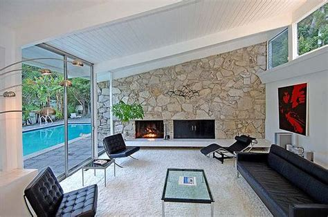 mid century fireplace modern charlotte mid century modern fireplace mid