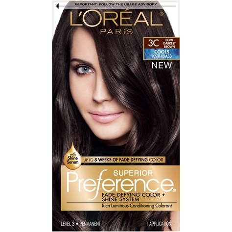 loreal hair dye colors l or 233 al superior preference permanent hair color ebay