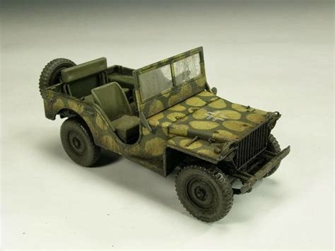 jeep tank military jeep willys 1 35 scale model automotive military
