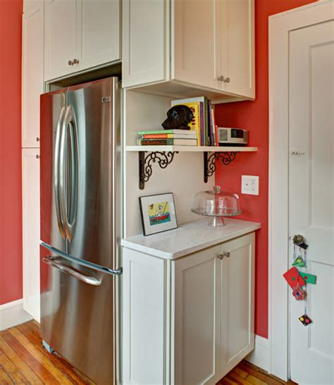 how to stagger existing cabinets cabinets around chimney in kitchen