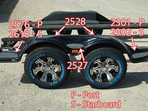 ranger boat trailer step pads fender step pad 2306