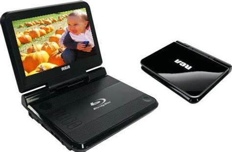 dual layer format dvd player rca brc3087 portable blu ray player 8 quot screen size bd r