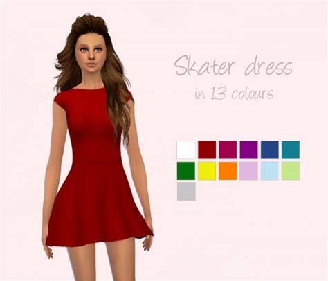 dresses sims 4 download delirium sims skater dress sims 4 downloads