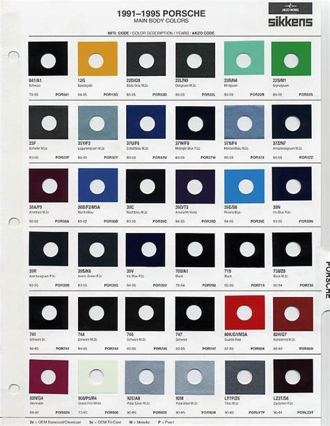 108 best auto paint colors codes images on