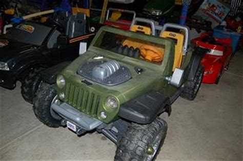 Jeep Hurricane Power Wheels Modifications Modified Power Wheels Jeep Hurricane Help