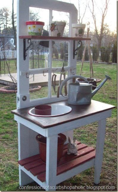 cheap potting bench 17 best ideas about old benches on pinterest hang