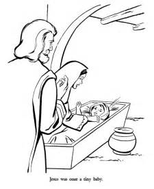 Baby jesus mary and joseph coloring pages gif