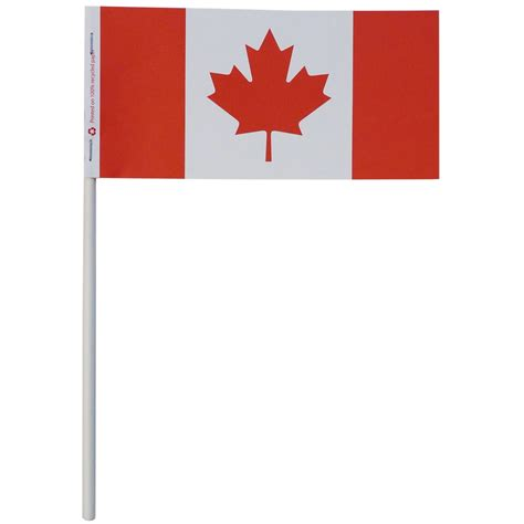 paper stick canada stick flags canada paper flags canadian table flags