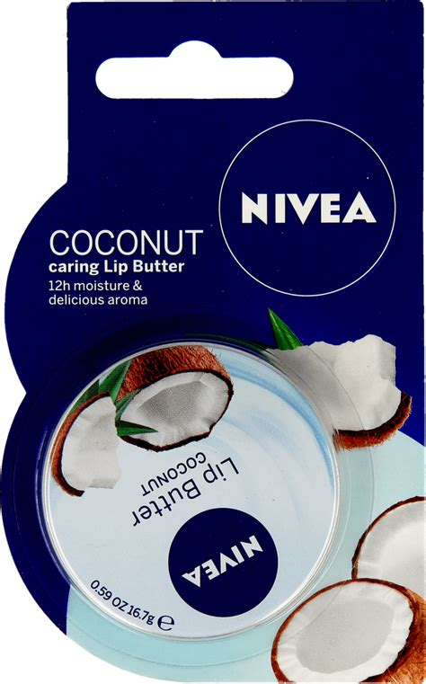 Nivea Lip Butter Blueberry 16 7g nivea lip butter balsam do ust coconut 16 7 g nr